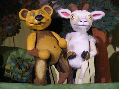 Bruder Bär und Schwester Frosch
