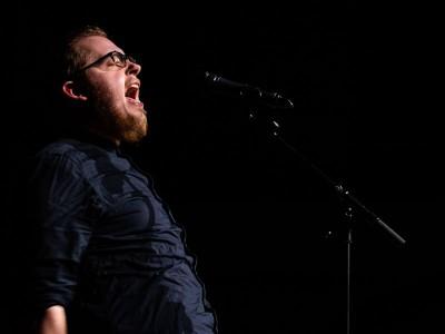 Wortlust Poetry Slam - Jonas Helmich Foto: der Fotowikinger
